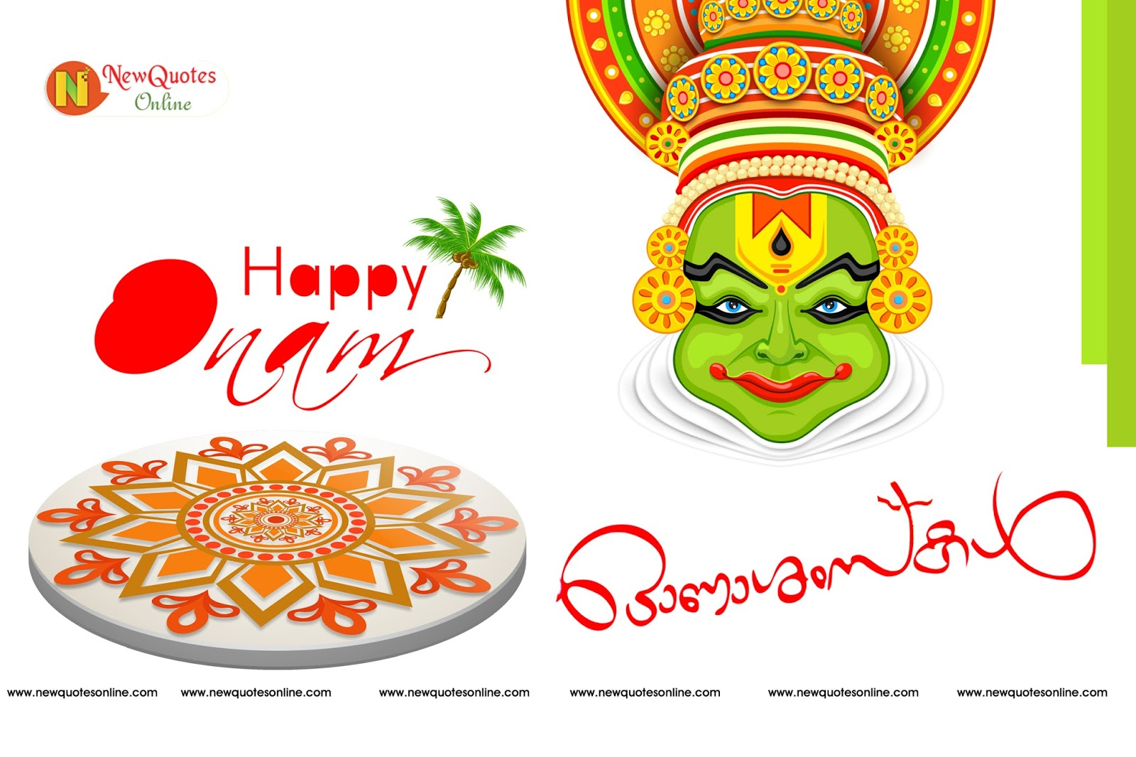 Happy Onam Greetings In Malayalam And English 2016 New Quotes