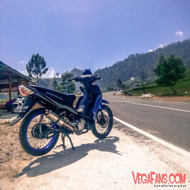 Vega RR Biru Modif Road Race