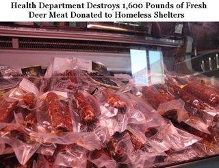 Luis Manuel: Health Dept.: Homeless Can't Eat Deer Meat