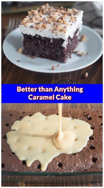 Better than Anything Caramel Cake