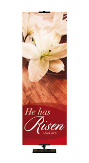 Easter Banner He Has Risen