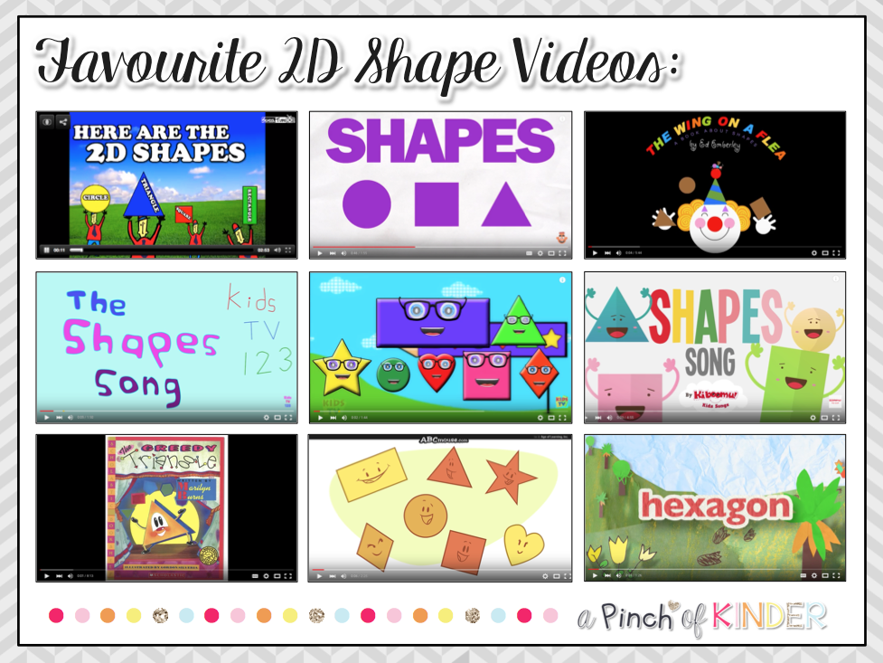 Here Are Some Of The Shape Videos I Like To Use At Beginning Each 2d Lesson