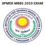 JIPMER MBBS 2019 Entrance Admit Card
