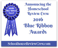 2016 Homeschool Review Crew Blue Ribbon Awards
