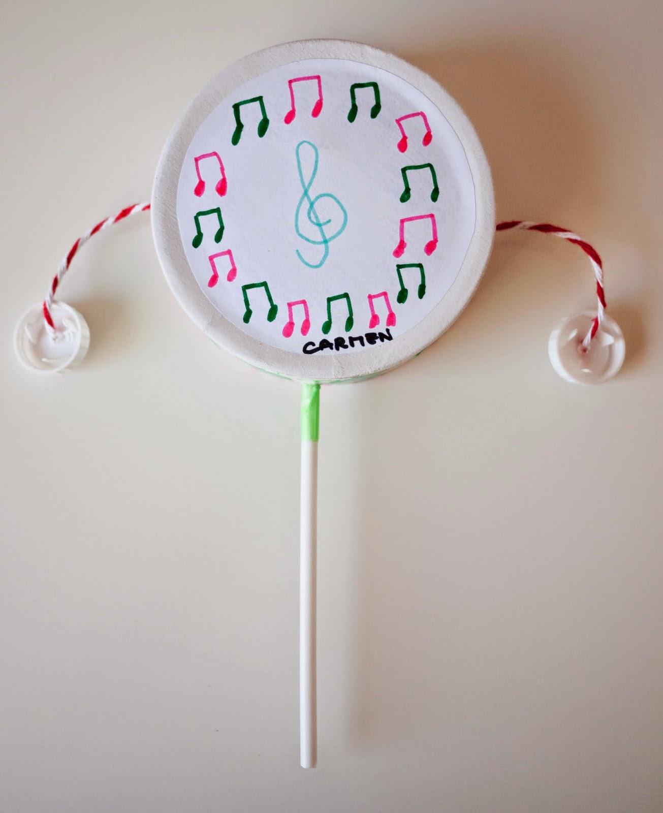 No sin mis hijos c mo hacer instrumentos musicales for Platos caseros faciles