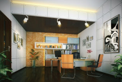 desain kantor minimalis terbaru
