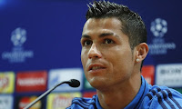 Footballer of Real Madrid Cristiano Ronaldo