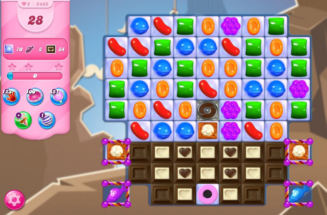 Candy Crush Saga level 5435