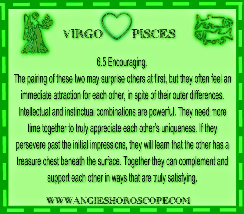 love match for pisces and virgo relationship