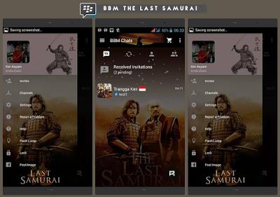 BBM Mod The Last Samurai V2.10.0.31 Apk