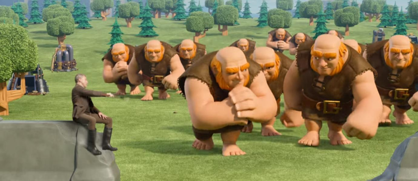 Animasi Video Keren Clash Of Clans COC Di TV Clash Of Clans