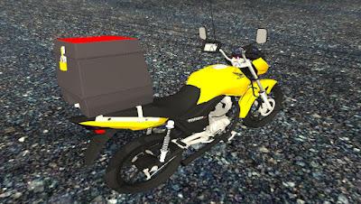 HONDA CG 150 MOTOBOY para GTA San Andreas , GTA SA , Gta sa
