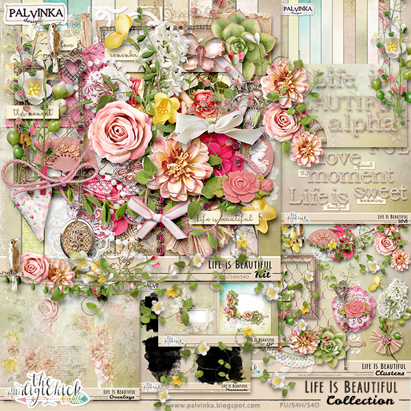 Life Is Beautiful new collection and Freebie