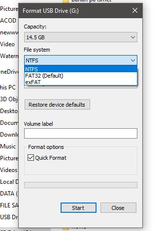 Cara agar bisa Copy file lebih dari 4GB kedalam Flash Disk