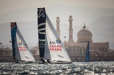 Sailing Arabia The Tour, Première édition en Diam24 terminée