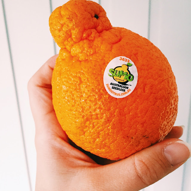 GoodFoodWeek and sumo mandarins