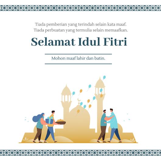Kumpulan Ucapan Lebaran/ Idul Fitri 2013 (3)