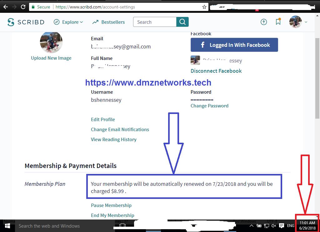 Scribd Premium Account Username and Password 2018 - DMZ Networks