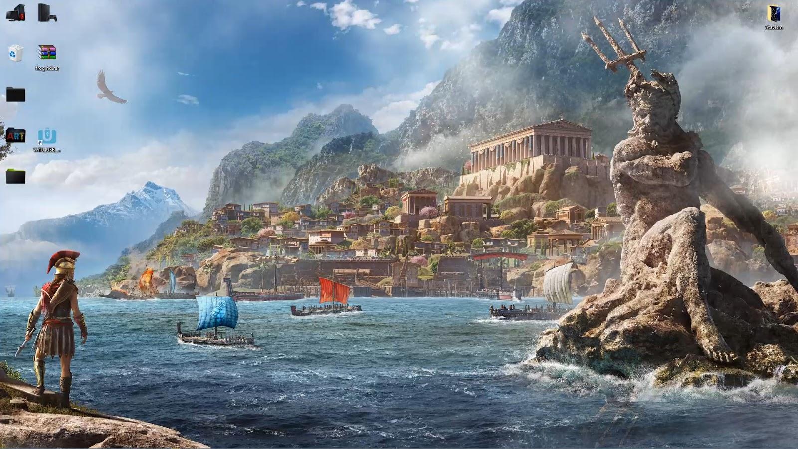 Wallpaper Engine 4k Assassins Creed Odyssey Poseidon Free Download