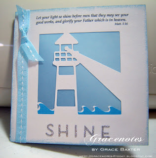 SHINE, all occasion card by Grace Baxter