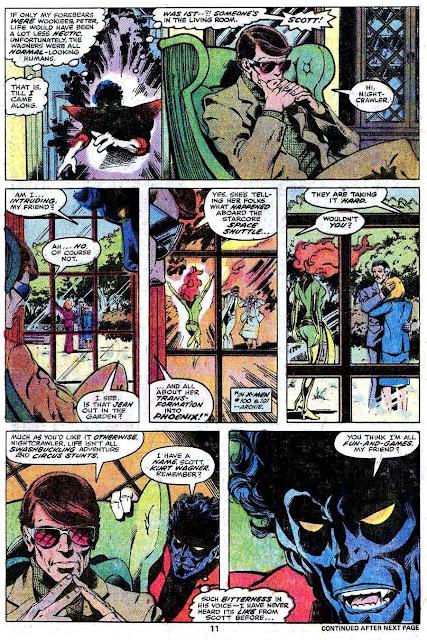 X-men v1 #109 marvel comic book page art by John Byrne