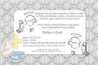 modelo de convite para batizado