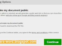 Cara Convert Word ke PDF Mudah