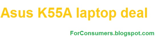 Asus K55A laptop deal at eBay