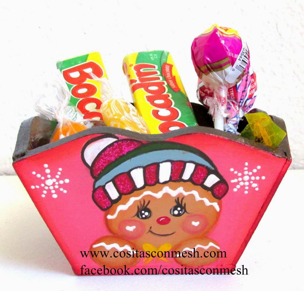 dulceros-madera-navideños