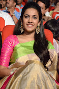 Niharika at Oka Manasu Audio function-thumbnail-15