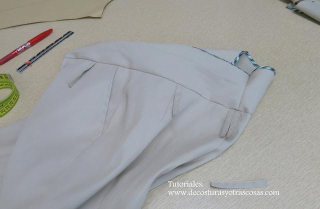 presillas para pantalón de mujer