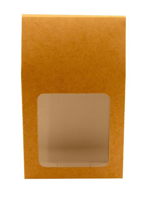 Pudełko podarunkowe z okienkiem na herbatę