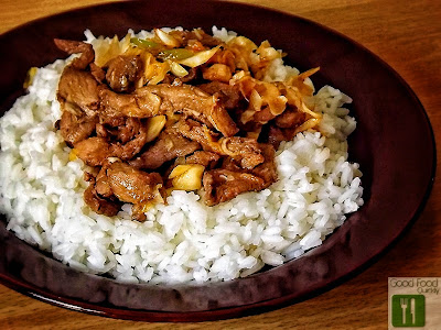 Carne de vițel cu orez