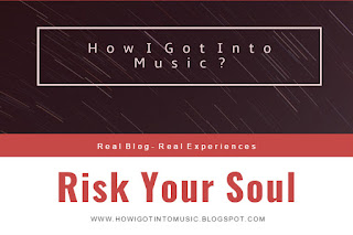 HOWIGOTINTOMUSIC New Amazing Song called Risk Your Soul By George Hentu