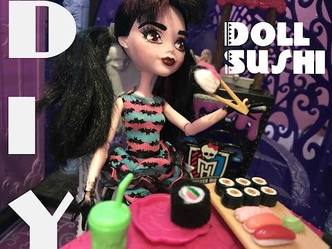 DIY Doll Sushi!