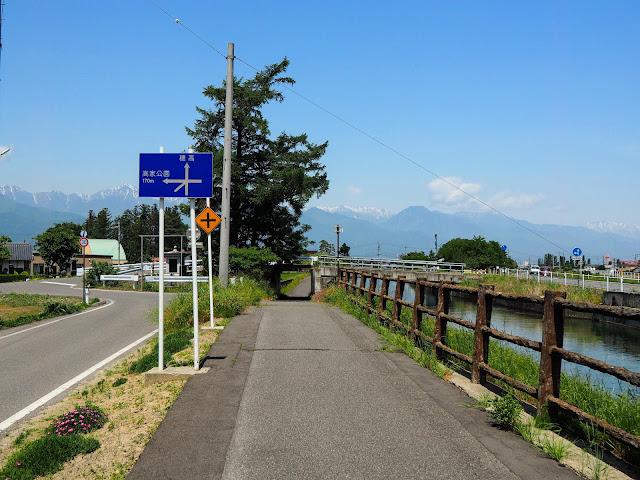 あづみ野やまびこ自転車道 拾ヶ堰