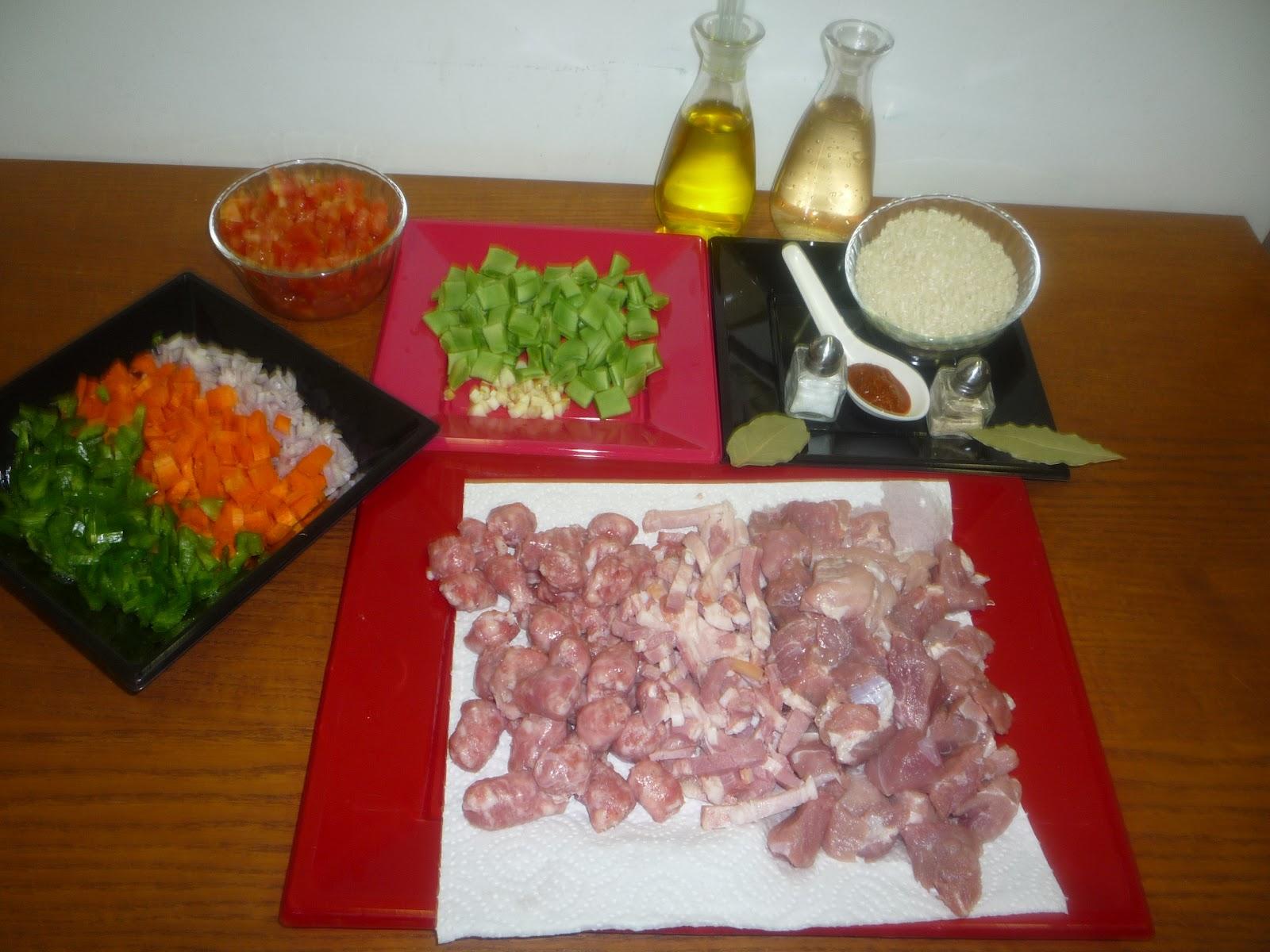 Mi Cocina Recetas Sencillas Arroz De Verdura Y Carne De