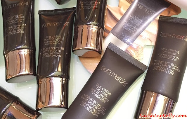 Laura Mercier Silk Crème Photo Edition Foundation, beauty Review, laura mercier makeup, laura mercier malaysia