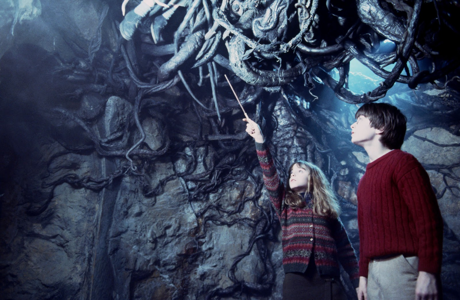 Porque Harry e Rony nunca teriam ido tão longe sem Hermione.