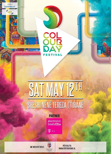 Color Day Festival for the first time in Tirana, music, smile and colors for everyone
