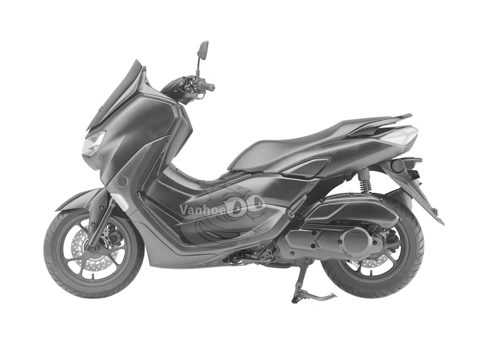 Kental akan aura XMAX series, ini dia penampakan calon Yamaha NMAX 155 Facelift 2020 !
