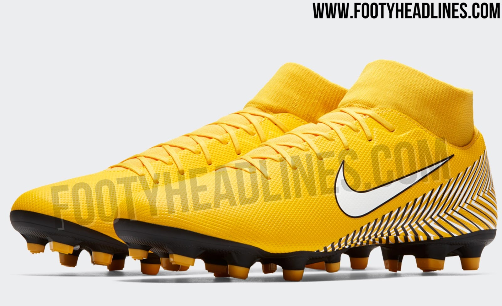6d3b3de122a 2018 World Cup Knock-Out Stage Boots   Amarillo  Nike Mercurial ...