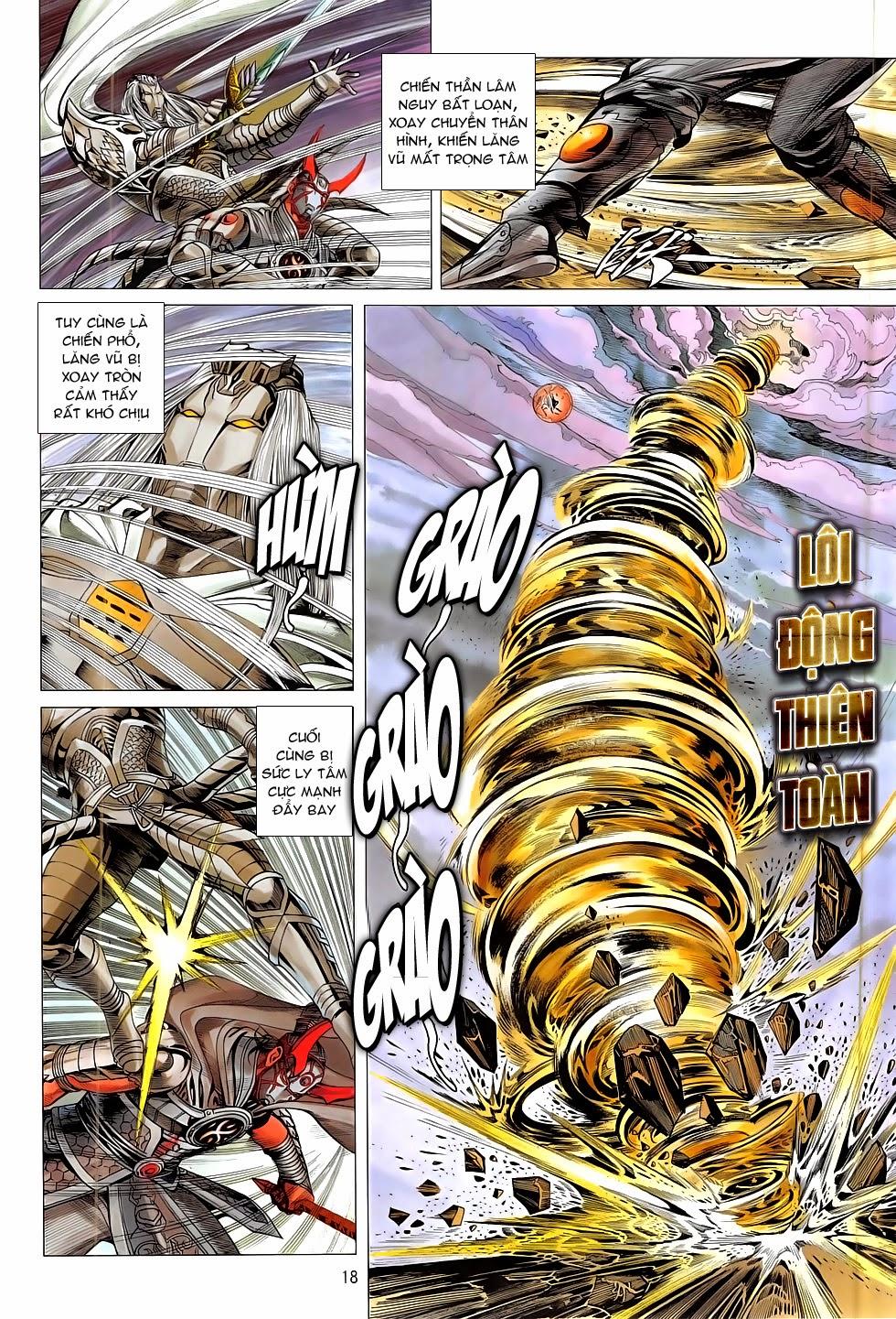 Chiến Phổ chapter 10: chấn tích lịch trang 18
