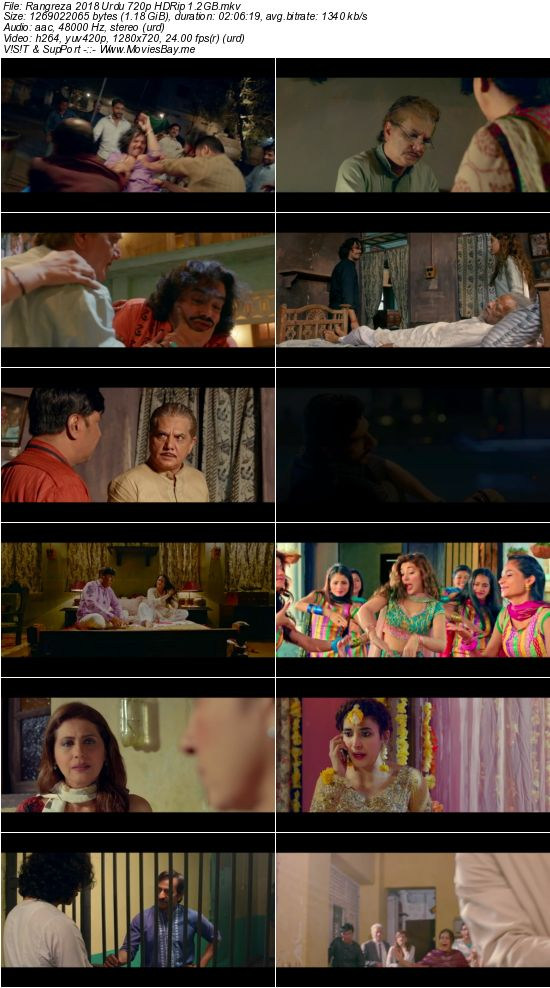 Rangreza 2017 Urdu 720p HDRip 1.2GB