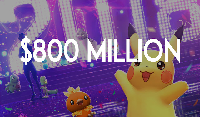 Pokémon GO Caught Nearly $800 Million in 2018