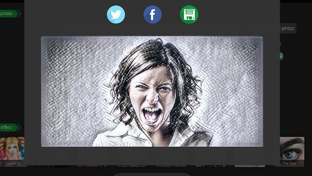 خدمة مجانية لتحويل الصور إلى لوحات فنية أون لاين