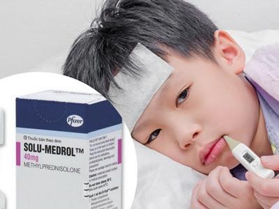 Có nên hạ sốt bằng thuốc tiêm Solu- Medrol?
