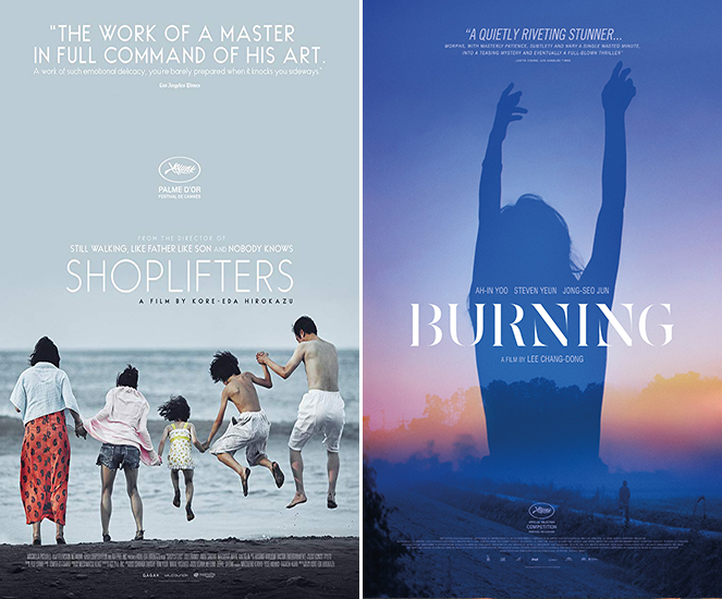 Shoplifters y Burning - OSCARS
