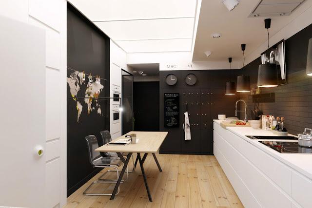 [Project] Apartamento chic lleno de contrastes