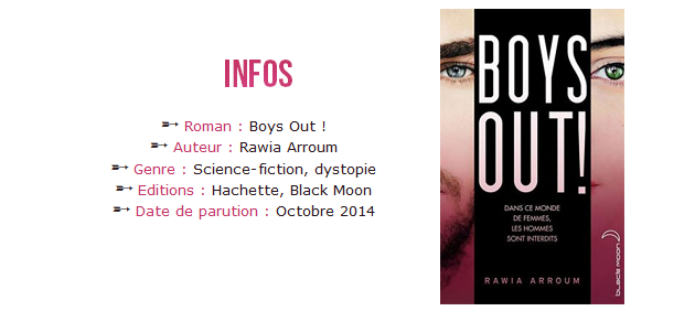 Infos sur le roman Boys Out